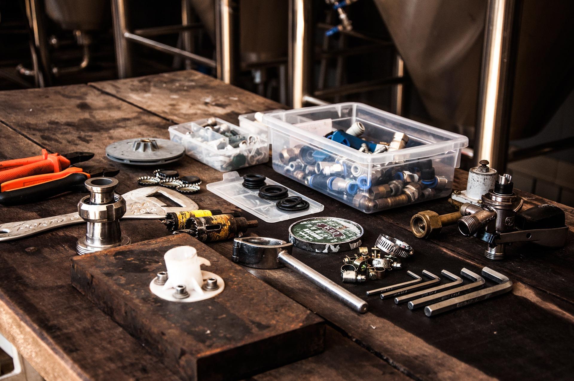 herramientas industriales, mantenimiento